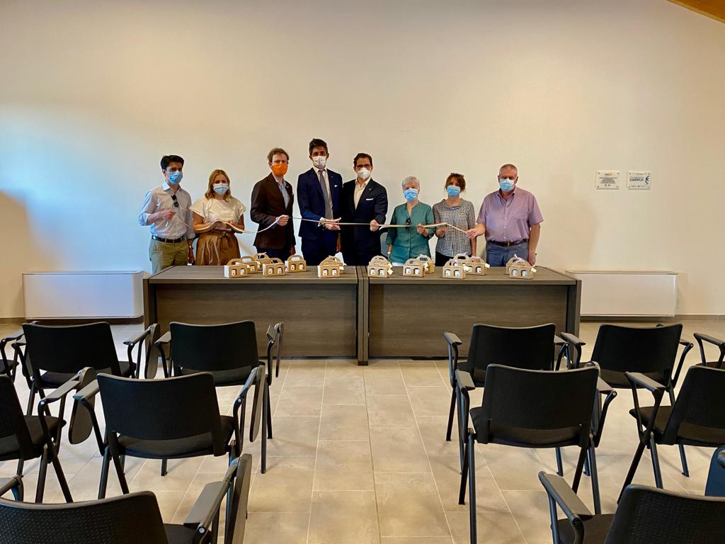 Inaugurazione nuovi arredi, 2020   Cascina San Marco Tidolo